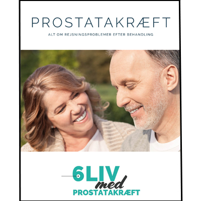 6liv med prostatakræft e-bog om rejsningsproblemer og behandlingsmuligheder. Sexolog Else O.